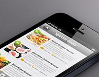 MangoSpot Restaurant App