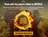 Banca Transilvania- Untold, proba de foc