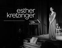 Branding // Esther Kretzinger / Soprano
