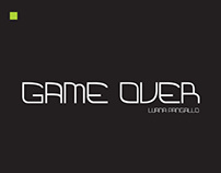 GAME OVER Type Design
