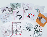 'Enchanted Collection' fairy tale greeting cards.