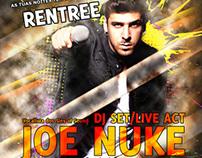 """Joe Nuke Flyer """"Making of"""""""