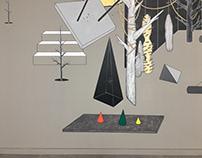 《抽象的平衡》 The balance of abstract 2018