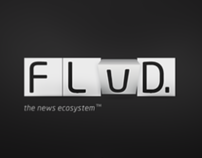 FLUD Brand & iPad App v1.0 - Mobile News Reader