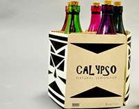 Calypso Natural Lemonade Packaging Rebrand/Redesign
