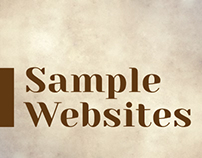 Sample Websites