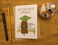 Star Wars Joke Greeting Cards