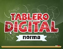 Digital blackboard // UI