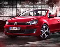 Showroom »Golf GTI Convertible«