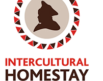Intercultural Homestay Logo + Stationary