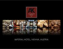 Alex Kravetz Design - Imperial Hotel Vienna Brochure