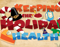 Healthy Holidays - Article Heading and Vignettes