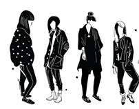 """Stella and Lori"" : Illustrative Brand Identity"