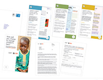 UBS Global Giving Campaign - Format Concepts