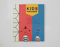 kids Magazine anti- circus festival