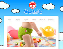 Bubrella Logo and Homepage