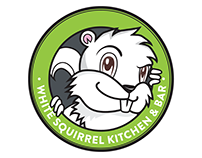 White Squirrel Kitchen - Logo Design & Illustration