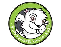 White Squirrel Kitchen - Logo Design & Illustration