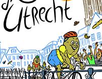 Tour d'Utrecht Poster