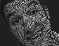Typographic Self Portrait