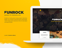 FunRock - Website Redesign