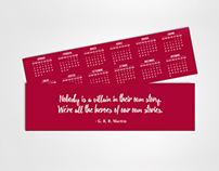 FREE CONTENT - Calendar Bookmarks