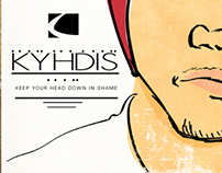 KHYDIS album cover lp