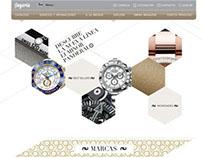 Relojería - Sitio Web