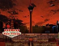 New Vegas Travel Poster