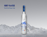 """Grey Goose"" Surreal Mountains"