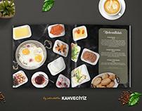 Kocatepe Kahve Evi - Menü ve Reklam Çekimleri