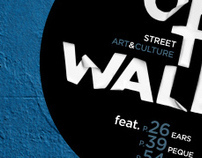 OFF THE WALL: street art & culture magazine