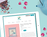 Tea Trunk - Ecommerce Website