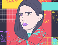 Javiera Mena - La Nueva GNRCION - Illustration