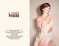 A Single Woman; Exclusive Fashion Editorial