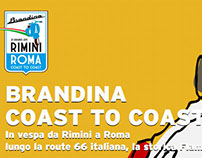 Brandina Coast to coast - Web site and brand