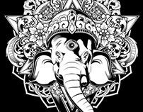 Love & Live Clothings: Ganesha T-Shirt