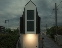 River Side House in Horinouchi by Mizuishi Architect