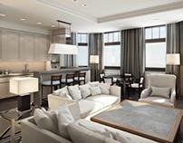 Nagornaya apartment (3d modeling and visualization)