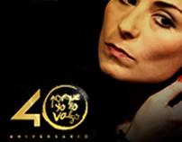 Aniversario 40 años. Porque yo lo valgo. L'Oréal Paris.