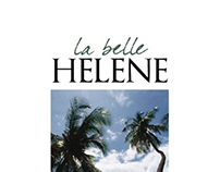 EDITORIAL DESIGN-La Belle Helene 2008 In-room magazine