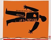 """""""ANATOMY OF A REFUGEE"""" (Hommage à Saul Bass)."""