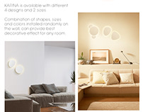 KARINA - wall lights
