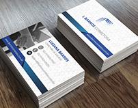 Cartões de Visita - L Barros Corretora