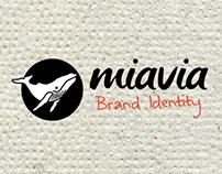 miavia - brand identity