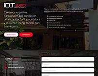 Landing Page - Intarq