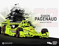 Verizon IndyCar Series 2016 Race Winners
