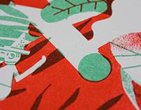 Dunaway | riso print