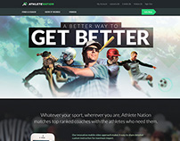 Athlete Nation Homepage