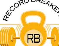Record Breakerz Logo Design